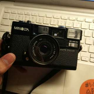 Minolta Hi-Matic AF2 film camera