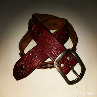 Belt Leather Hawk Company