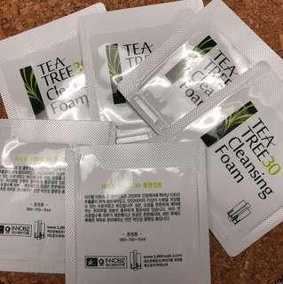 Leejiham Tea Tree Cleansing Foam