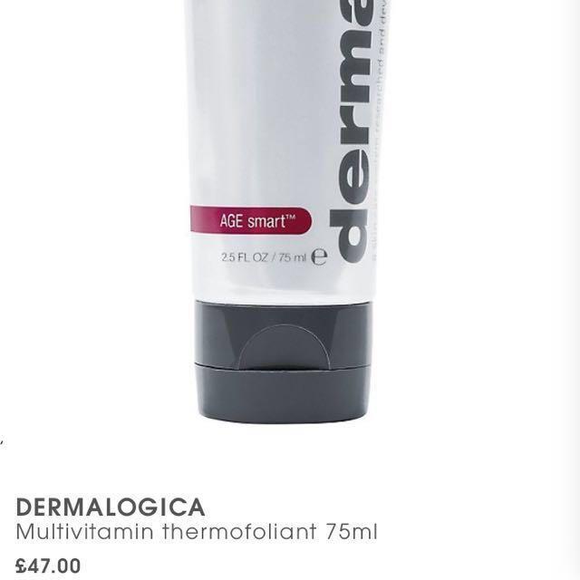 75ml dermalogica multivitamin thermafoliant