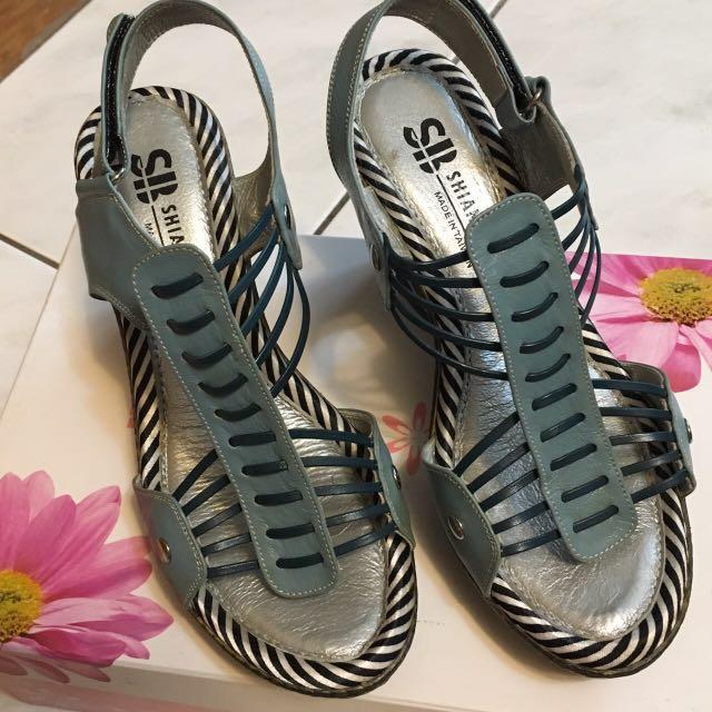 楔形低根涼鞋👡