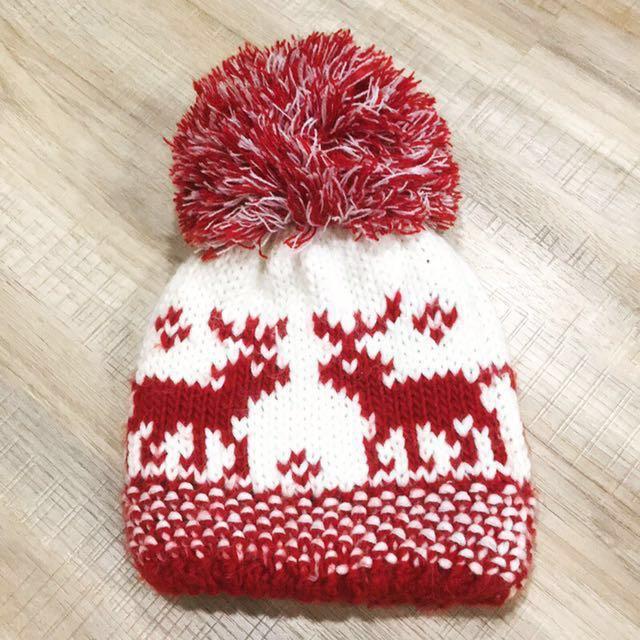 全新日本買針織毛帽🇯🇵保暖可愛過年#冬季衣櫃出清