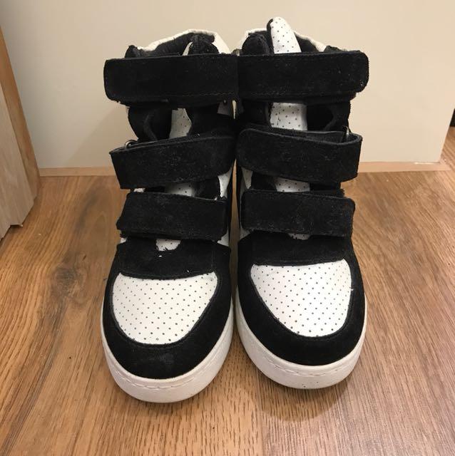 (二手少穿)韓國購買內增高球鞋