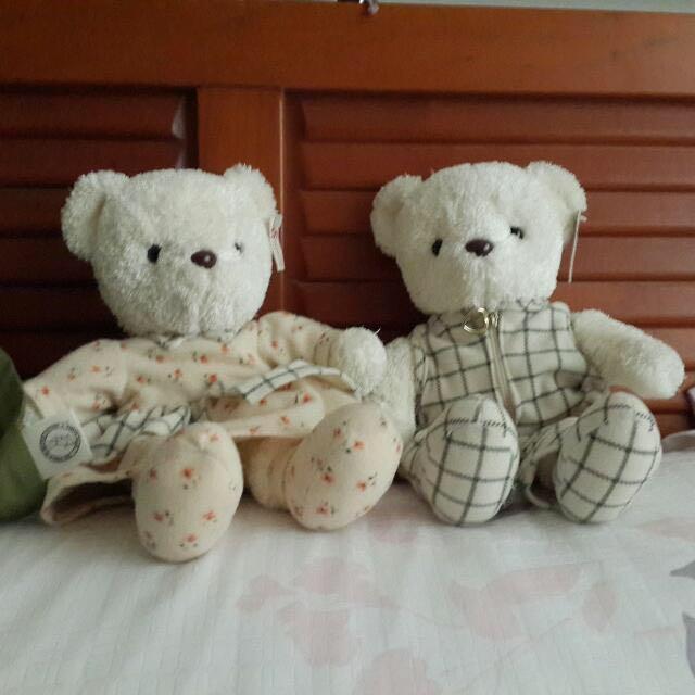 熊熊(一對)