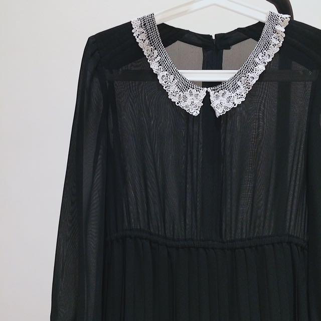 黒ドレス  日本古着