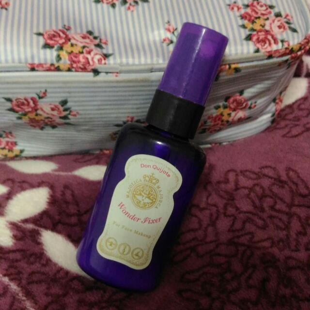 戀愛魔鏡 日本限定 定妝噴霧 小紫瓶