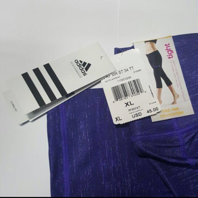 Adidas Workout Tights/Leggings