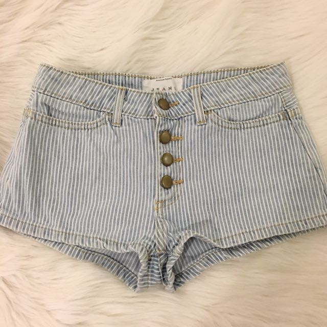 American Apparel Button Shorts