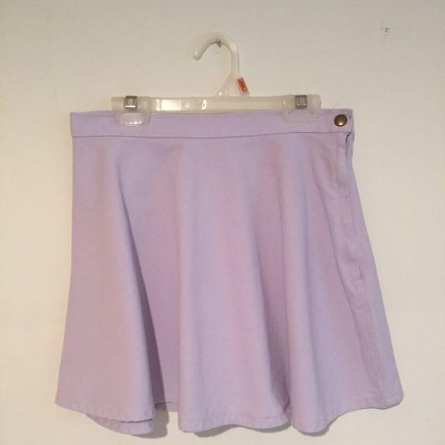 American Apparel Denim Circle Skirt