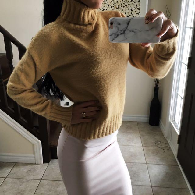 Angora blend sweater size XS / S