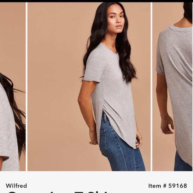 Aritzia Wilfred Capucine T-Shirt