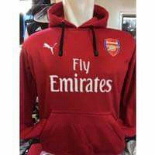 47610118e Arsenal Hoodie. Size S M L XL, Sports, Sports Apparel on Carousell