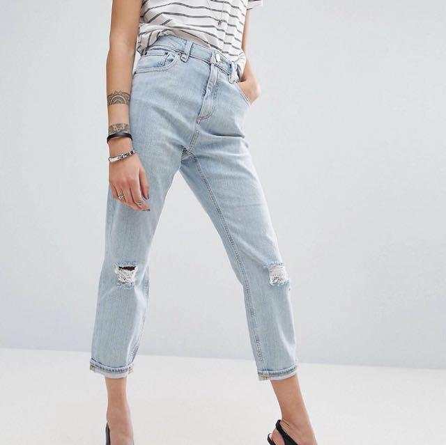 Asos light blue jeans