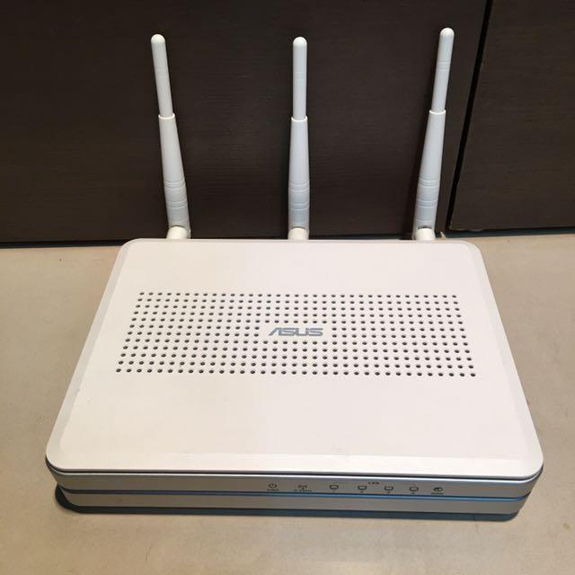 Asus RT-n16無線分享器(無DC充電線
