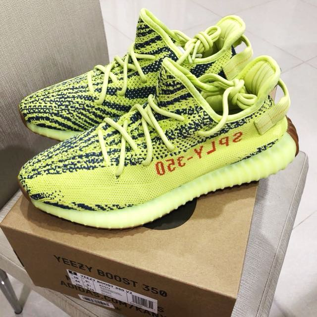 4591cfebc1c ... discount authentic adidas originals yeezy boost 350 v2 frozen yellow  mens fashion footwear on carousell 4f355