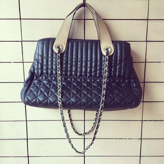 Authentic Dissona Handbag and Chain Bag