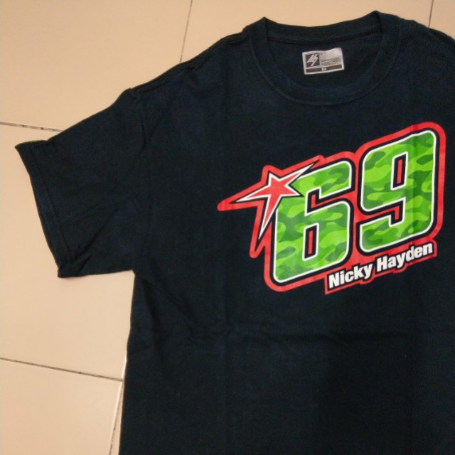 Authentic m7 nicky hayden 69 size M
