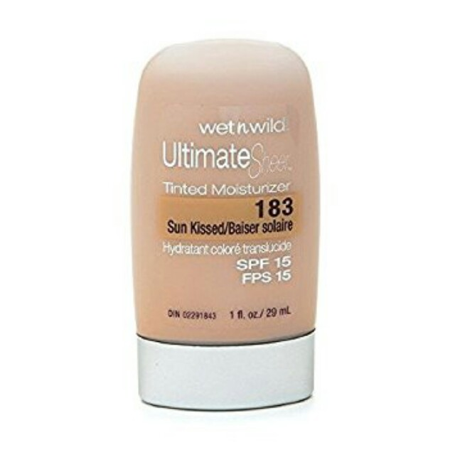 Authentic Wet 'n Wild Tinted Moisturizer in Sunkissed Shade P350