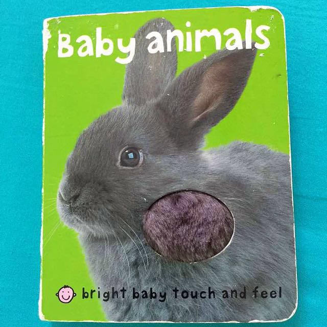 Baby bedtime story / bath book / touch and feel book