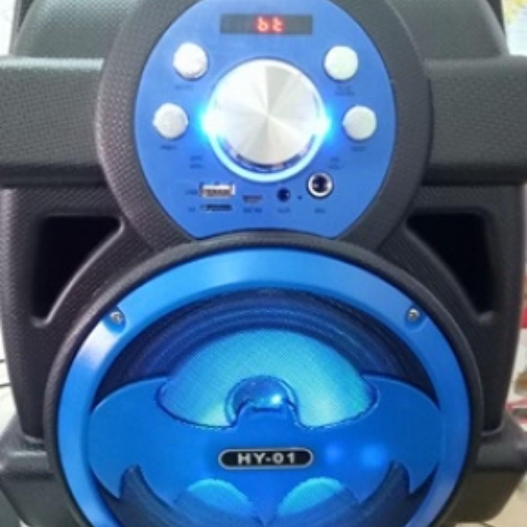 bd2dd693ca3 Batman HY-01 Bluetooth Speakers LED Big Capacity Sound Bass Subwoofer