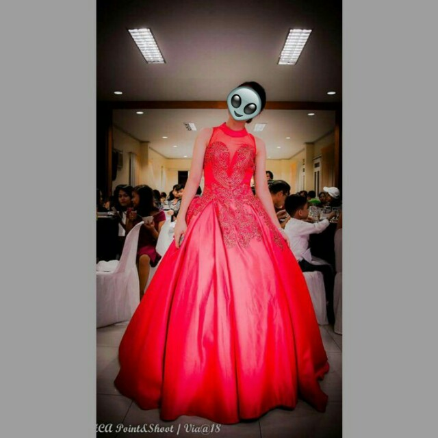 Bloody Red Gown