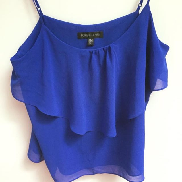 Blue forever new top