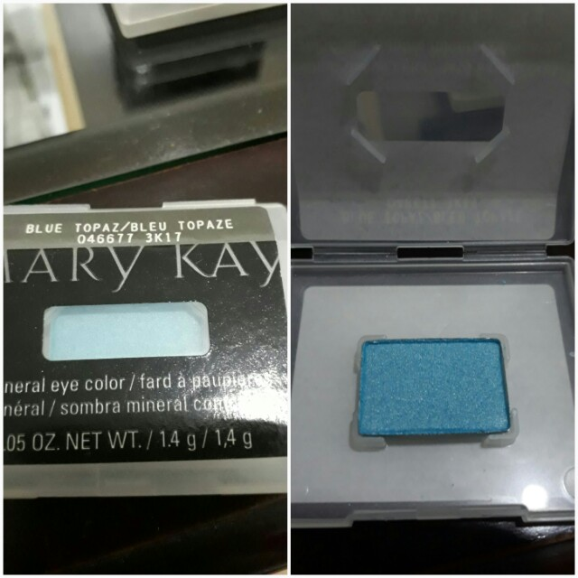 Blue topaz eyeshadow-marykay