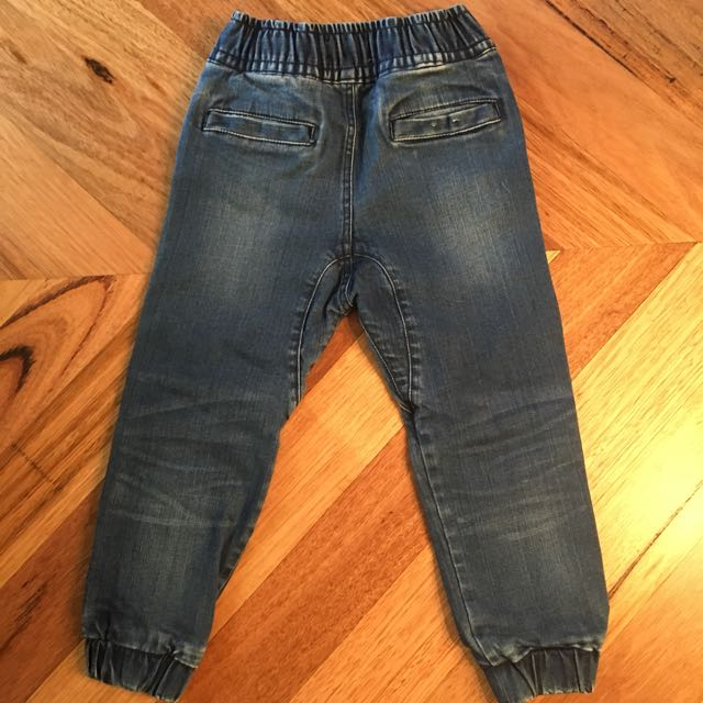 Boys Country Road Blue Denim Jogger Jeans, Size 4