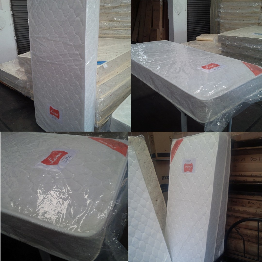 Brand new mattresses of different sizes