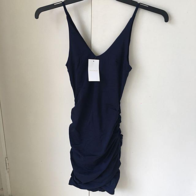 Brand new with tags Kookai navy dress