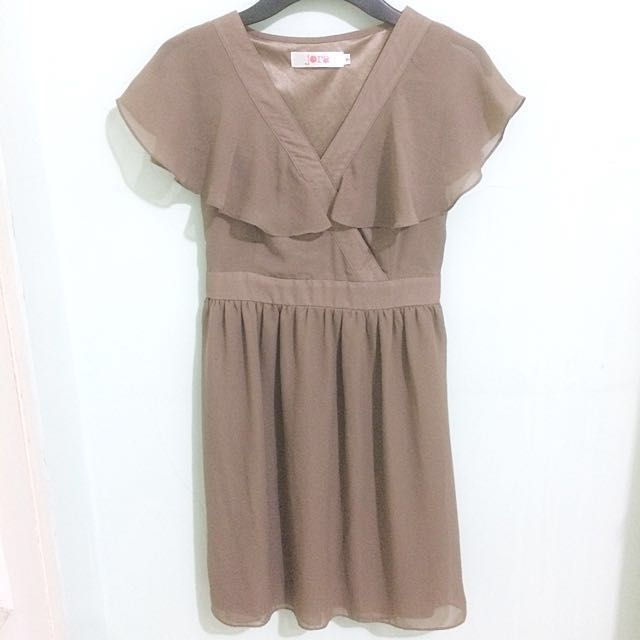 Brown Layer Dress