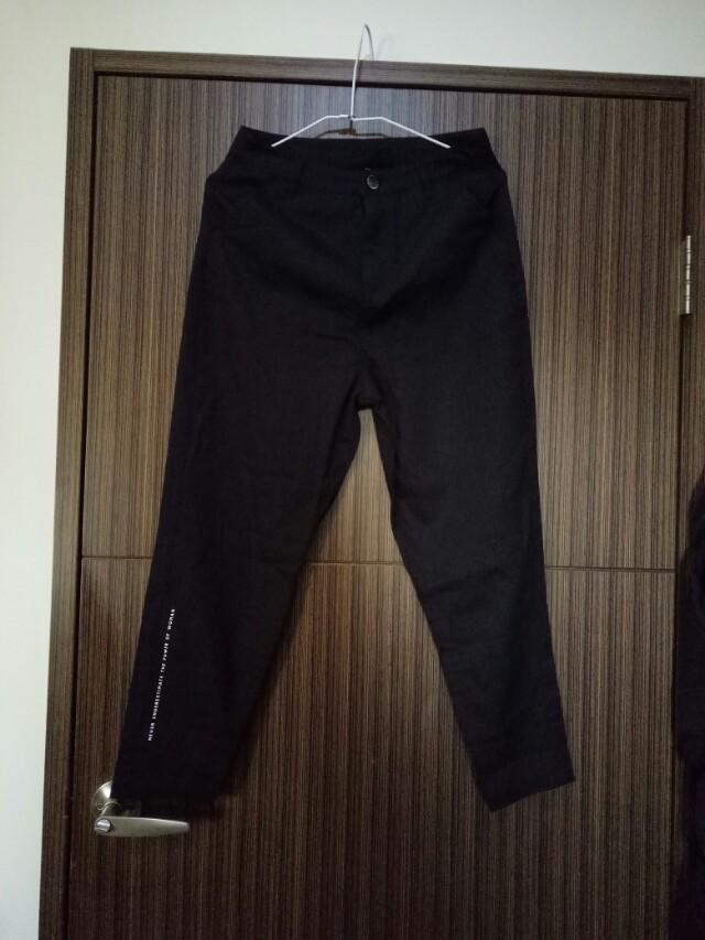 BSX 黑色長褲