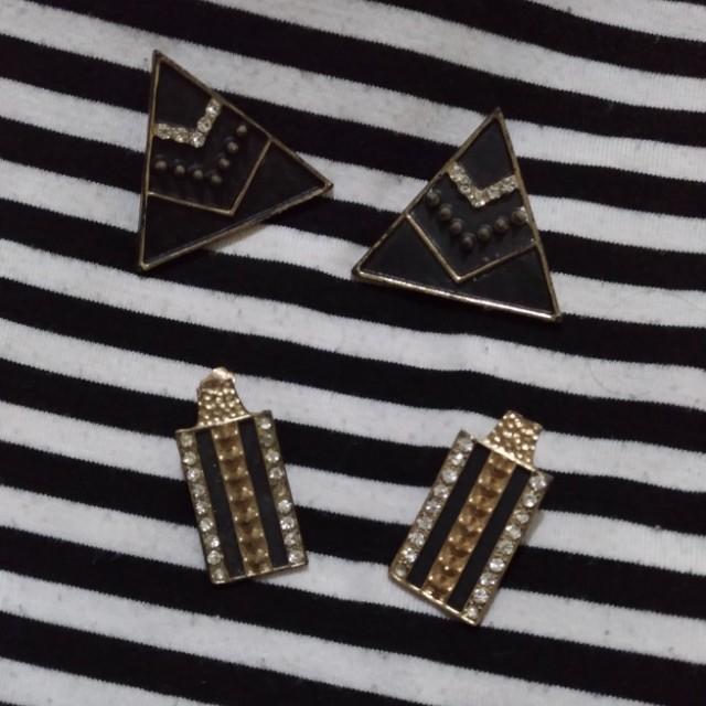 Bundle Elegant Earrings