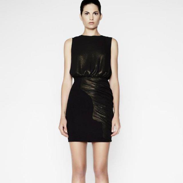 Camilla And Marc Black Eden Dress