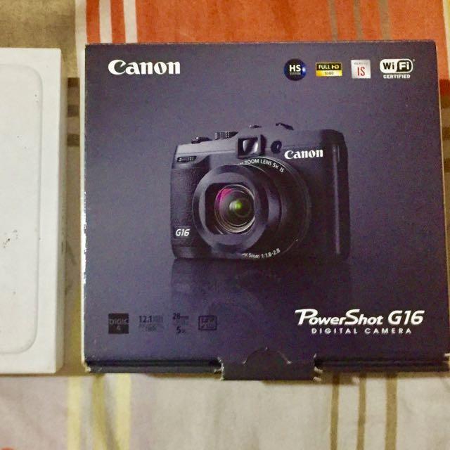 Canon G16 Powershot