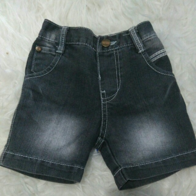 Celana pendek denim baby superman
