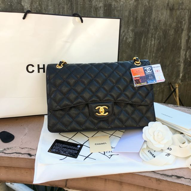 Chanel double flap large