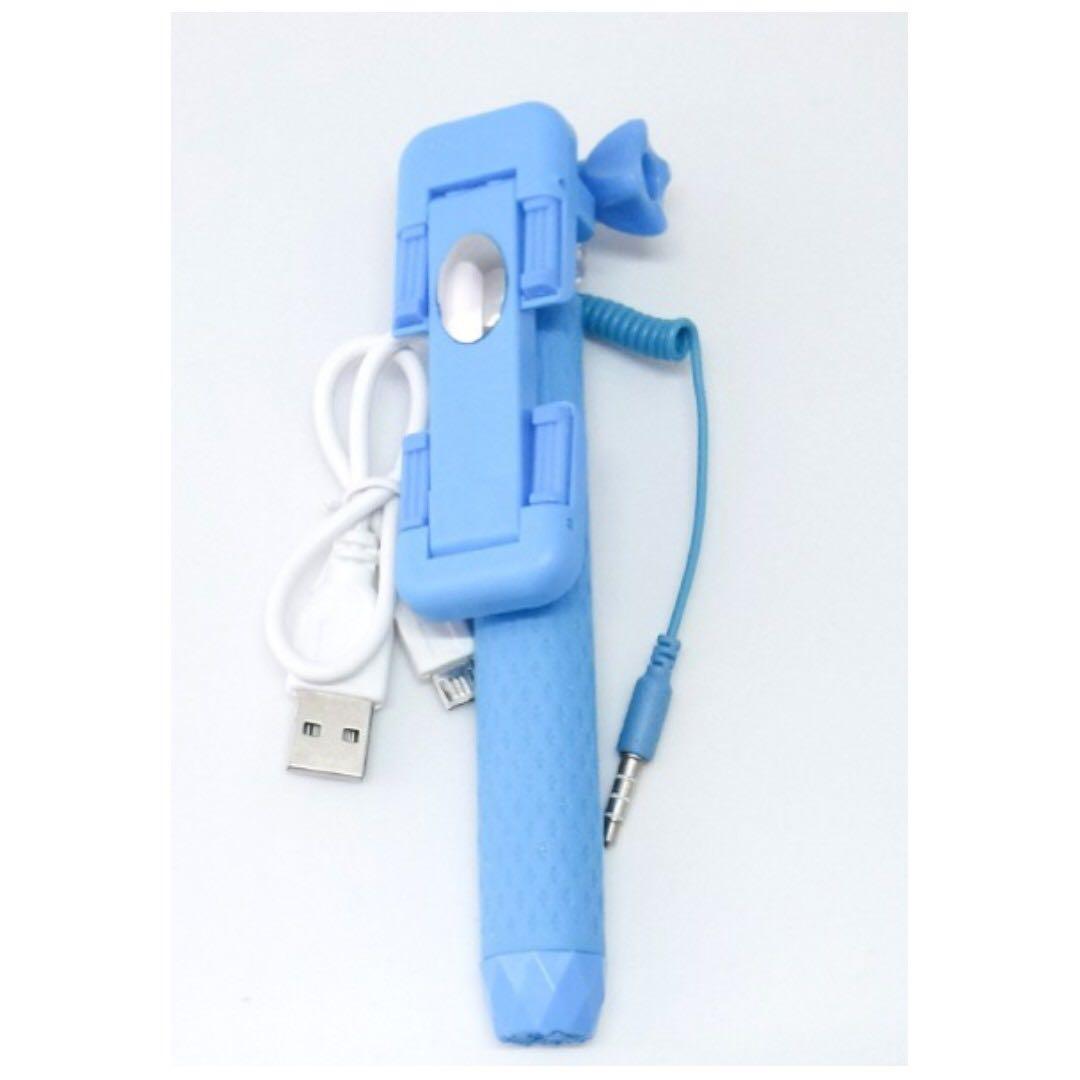(一)CHIEF' 可折疊線控迷你筆式線控自拍神器 自拍棒 自拍桿 自拍器 自拍神棒 自拍神桿 伸縮桿