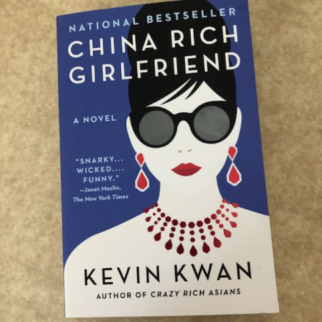 China Rich Girlfriend by Kevin Kwan book