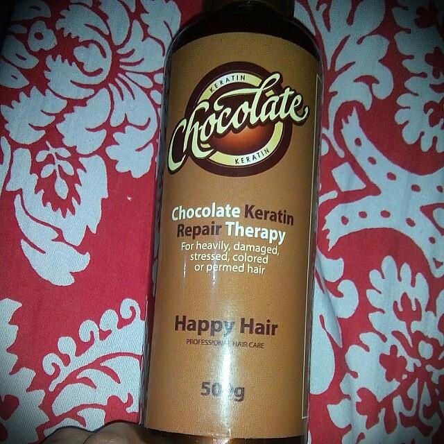 Chocolate keratin