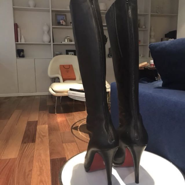 Christian Louboutin authentic 120mm boots