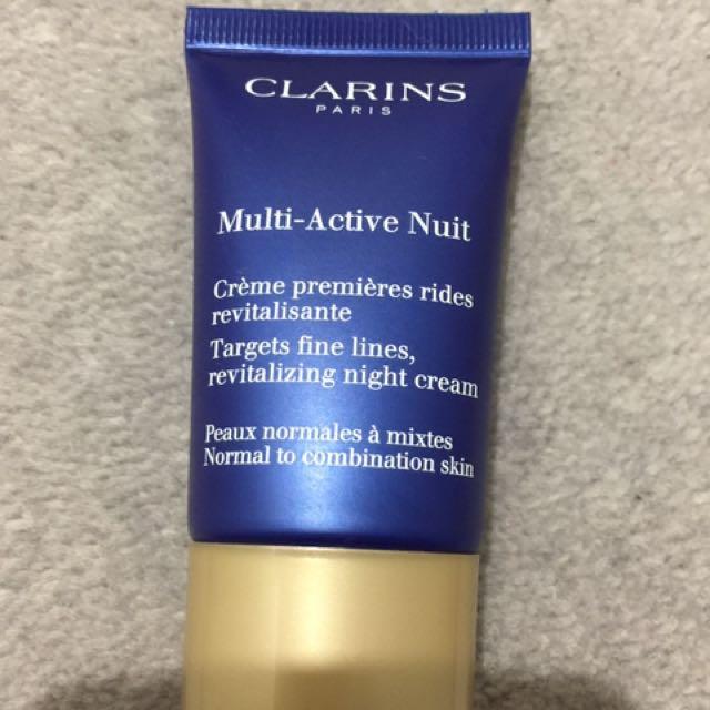 Clarins Multi-Active night cream
