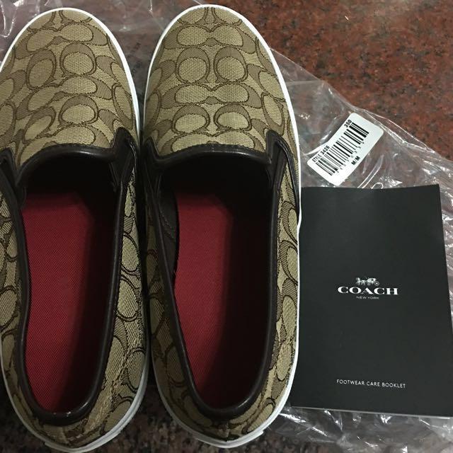 COACH 懶人鞋8.5號