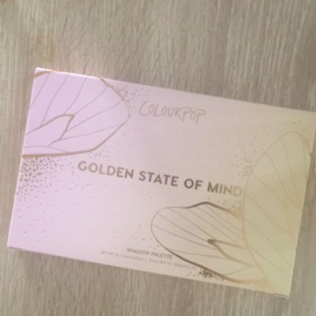 Colour Pop Golden State Of Mind