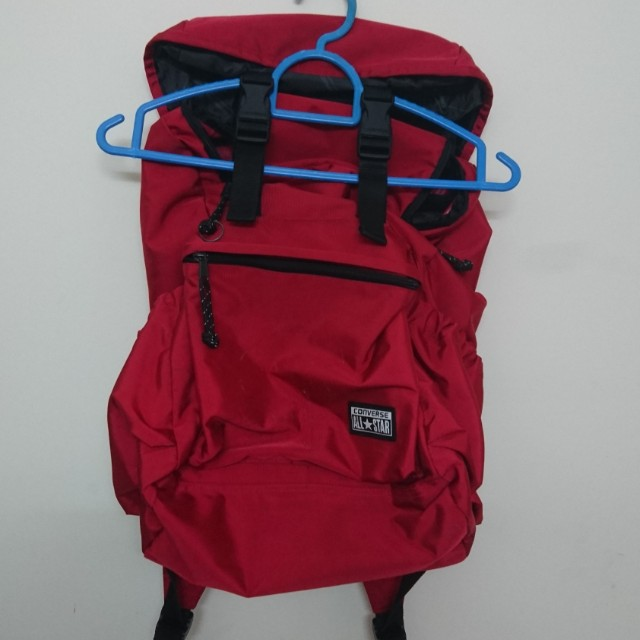 converse bag red