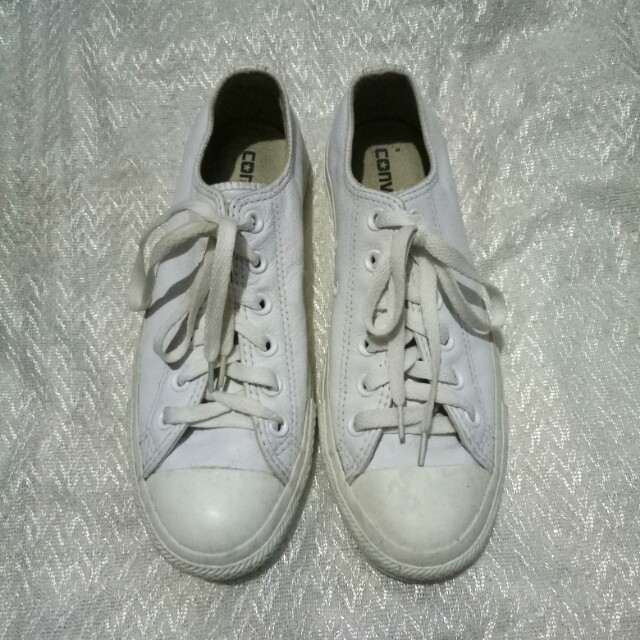 Converse Chuck Taylor All Star Mono Leather Ox - White