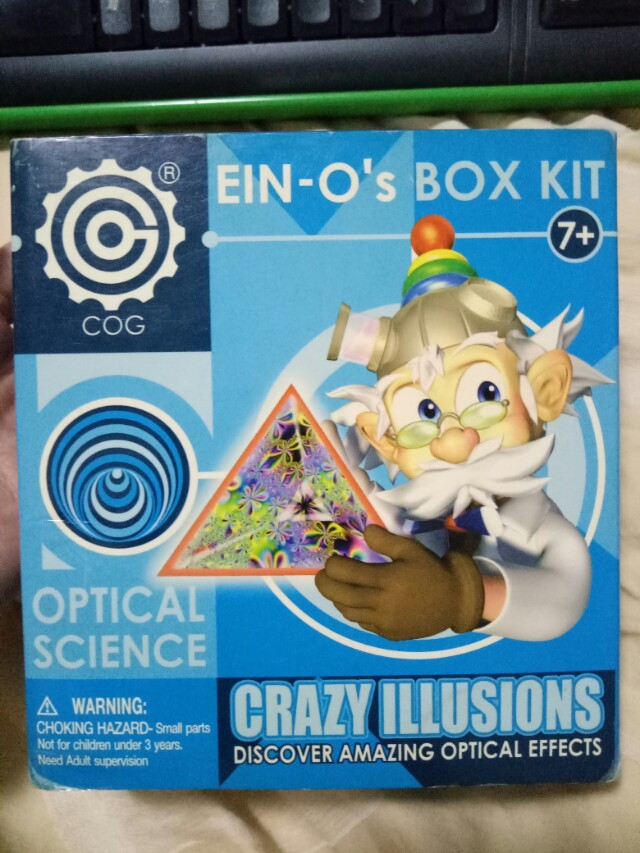 Crazy illusions box kit optical science