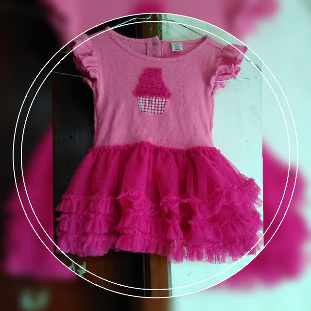 Cupcake princess dress