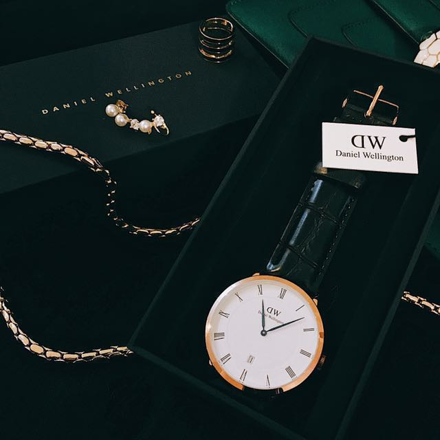 Daniel wellington Dapper 34mm 手錶