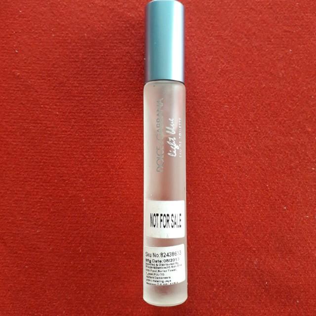 D&G light blue EDT 7.4ml